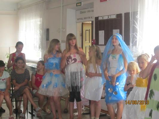 Костюмы для девочек своими руками из подручного материала фото 477